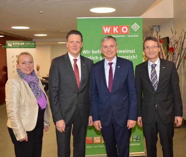 Gruppenfoto Schön, Klacska, HBM Stöger, Wolf