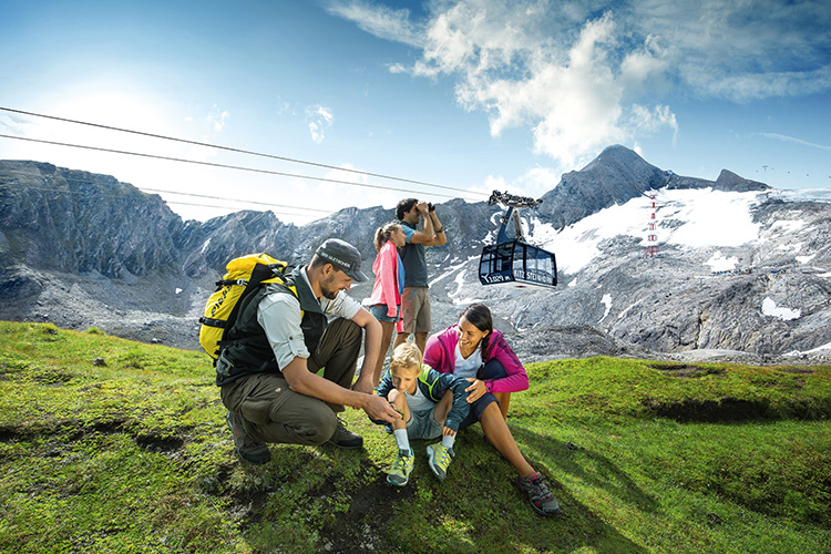 Explorer Tour am Kitzsteinhorn in Salzburg