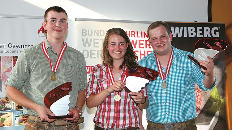Die Sieger des Bundeslehrlingswettbewerbs der Fleischer 2019