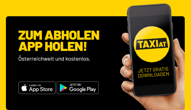 Sujet Taxi.at App