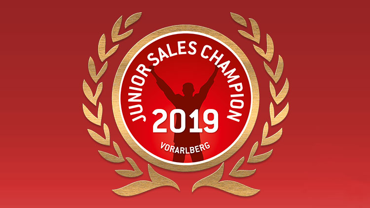 Junior Sales Champion 2019