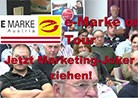 Die e-Marke on Tour