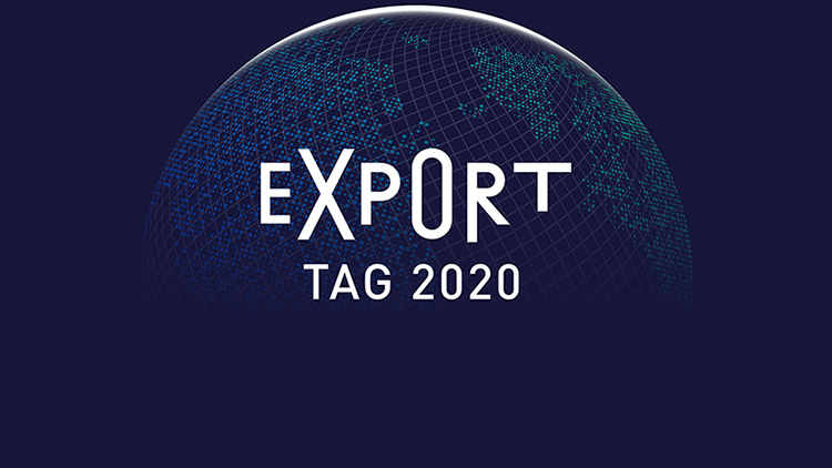Exporttag 2020 Logo Hightlight