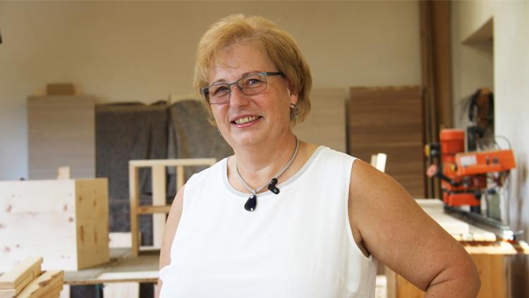 Von Frau in der Wirtschaft ausgezeichnet: Unternehmerin des Monats Oktober 2018 Hildegard Woschitz
