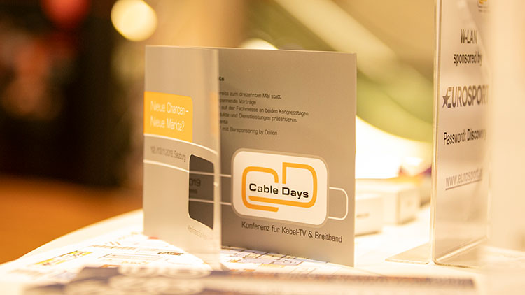 Cable Days 2019 Rückblick